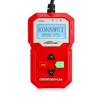 Obdii automobile malfunction diagnostic instrument detector scanner