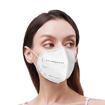 5-kerrokset kn95 kasvomaskit pölynkestävä ilmansuodatin hengitys