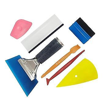 Auto Fenster Tint Anwendung Werkzeug Kit, 7 Stück Fahrzeug Glas Schutzfolie Installationswerkzeug