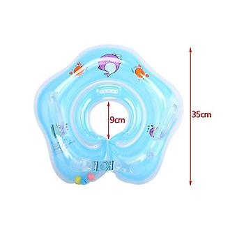 Baby Inflatable Ring Neck Inflatable Wheels For Newborns Pools Swimming Safety