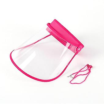 Full Face Shield Dustproof Protection & Anti Droplet Saliva, Plastic Masks