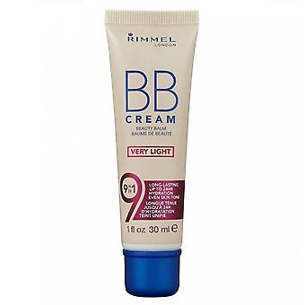 Rimmel BB Beauty Balm Cream - Very Light