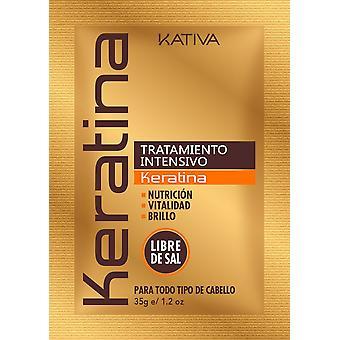 Kativa Keratin Tratamiento Intensivo Sobre 35 gr