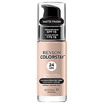 Revlon Colorstay Foundation Combination/Oily Skin #270 chestnut