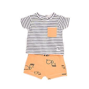 Baby Globe Boys 2-teilige Kleidung Kit Naranja Claro