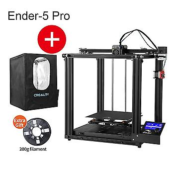 Ender-5 pro 3d printer silent board pre-installed cmagnetic plate ender5pro power off resume enclosed structure creality 3d