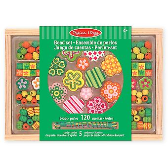 Melissa & Doug Bead Set Flower Power