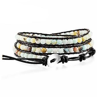 Genuine Leather Bracelet Bangle Cuff Rope