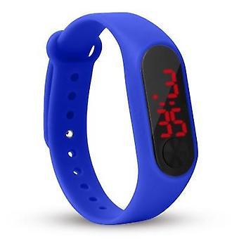 Четыре цвета:apos;s Цифровые часы, Led Sport, случайный Силиконовый браслет wristwatch