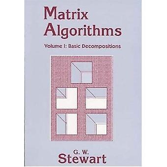 Algoritmos matriciais: Decomposiçãos Básicas v. 1