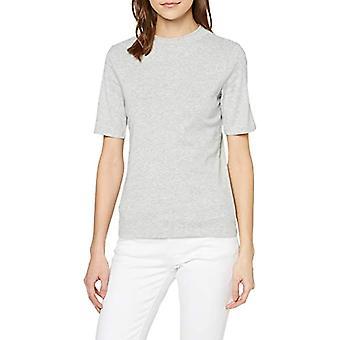 edc av Esprit 999cc1k820 T-Shirt, Grey (Ljusgrå 5 044), X-Small Woman