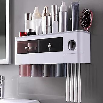 toothbrush storage shelf Toothbrush holder Bathroom decoration accessories Storage unit
