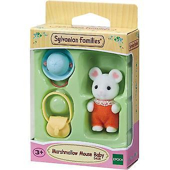 Sylvanian Families 5408 Marshmallow Mouse Baby
