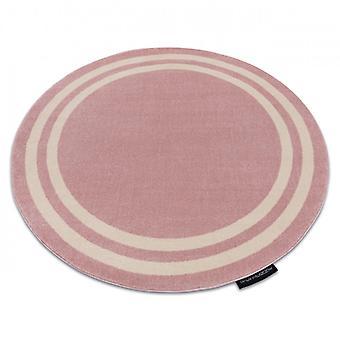 البساط هامبتون الإطار دائرة أحمر الخدود الوردي