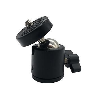 Hot Shoe Tripod Mount Camera Adapter, Ball Head With Lock, Bracket Holder