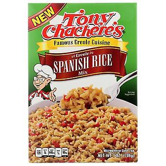 Tony Chacheres Rice Spanish Dinner, Case of 12 X 7 Oz