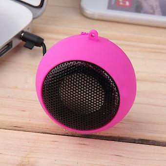 Protable Mini 3,5 mm Klinke Hamburg Typ Teleskop Plug-in Audio Lautsprecher