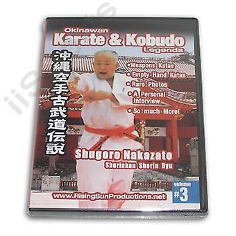 Okinawa Karaté Kobudo #3 Dvd Shugoro Nakazato -Vd6960A