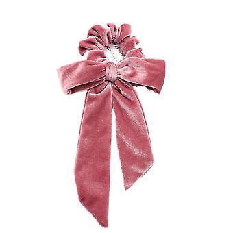 5PCS Nastro / Velluto Elastico Fasce per capelli Gomma Corda Corda Cravatta Scrunchie Ragazze Donne Coda di Cavallo