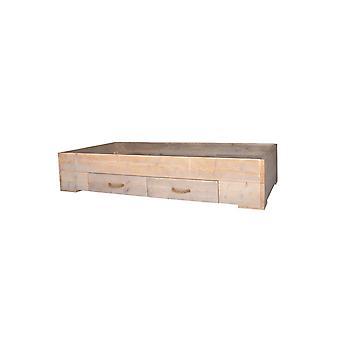 Wood4you - Eenpersoonsbed Billy steigerhout 206Lx43Hx96D cm
