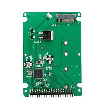 Ngff B + m مفتاح ساتا Ssd إلى 44 دبوس 2.5 Ide محول بطاقة مع القضية