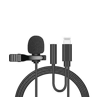 Kannettava Clip-on Lapel Mini -mikrofoni