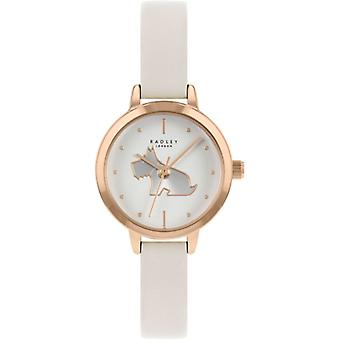 Radley Mto - Ss21 Promo Ry21252a White Dial Leather Strap Ladies Watch