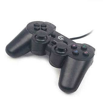 Gaming Control GEMBIRD Dual Gamepad PC Zwart