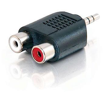 الصوت ستيريو ألوجيك إلى 2 X RCA ستيريو محول M إلى F
