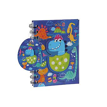 Livre de Bagues DKD Home Decor Bleu (12 x 2 x 15 cm)