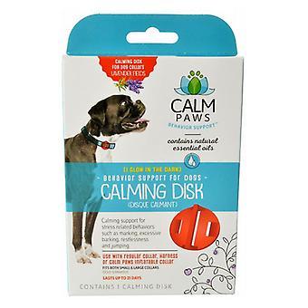דיסק מרגיע כפות רגליים רגועות לצווארונים לכלבים - ספירה 1