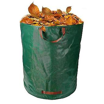 Recycling containers garden waste bag reusable yard fallen leaf storage bags collection container 106l28 gallons