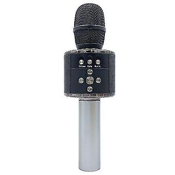 7 Farben LED-Licht USB Bluetooth drahtloses Mikrofon Lautsprecher Handmikrofon ktv Karaoke Mikrofon