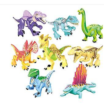 Jurské svetové bloky. 8 dinosaurov zaútočilo na základňu