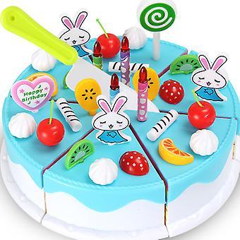 Simulation Birthday Cake Girl Kitchen Play House Toys