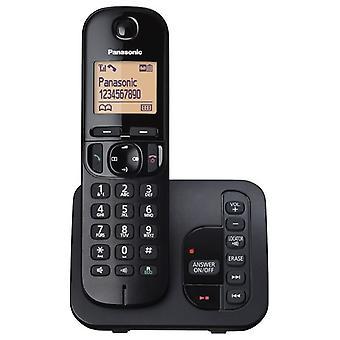 Panasonic KX-TGC220EB Digitaali Cordless vastata puhelimeen häirintäsoittojen estää LCD-näyttö - musta