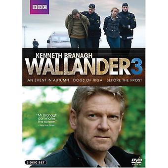 Wallander: Season 3 [DVD] USA import