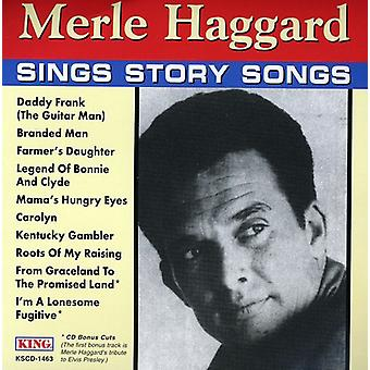 Merle Haggard - Sings Story Songs [CD] USA import