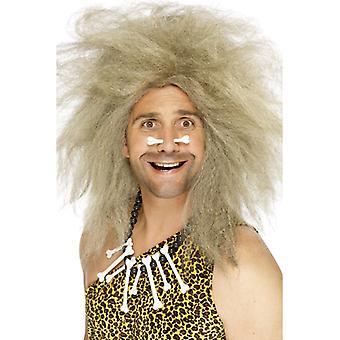 Pierwotny człowiek wig jaskini człowiek człowieka pierwotnego kamień wig