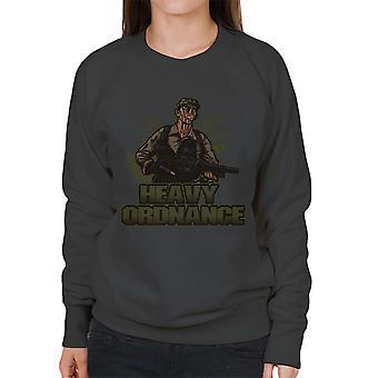 Zware Ordnance Jorge Poncho Ramirez Predator vrouwen Sweatshirt