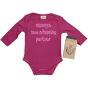 Spoilt Rotten New Shopping Partner Babygrow 100% Organic Cotton