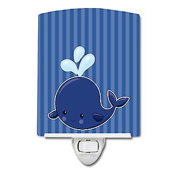 كارولين الكنوز BB8885CNL بحري الحوت الأزرق ضوء الليل السيراميك #2