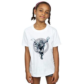 Marvel Girls Thor Circle T-Shirt