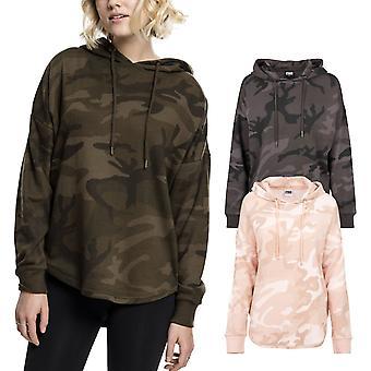 Urban classics ladies - oversized camouflage long Hoody