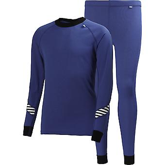 Helly Hansen Boys & Mädchen Junior HH Baselayer Trockenkuppe & Böden Set