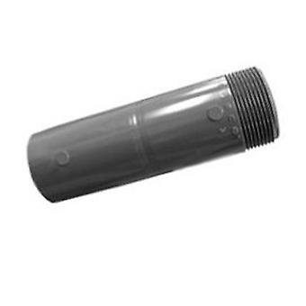 "Lasco 130-120 3"" x 12"" Schedule 80 One End Threaded Nipple - Gray"