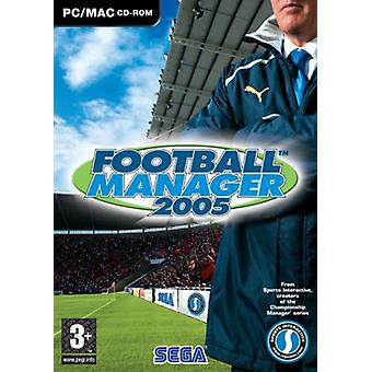 Football Manager 2005 (MacPC CD)-ny