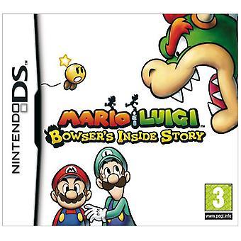 Mario Luigi Bowsers Inside Story (Nintendo DS) - Som ny