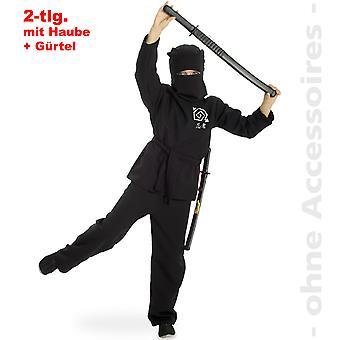 Ninja traje crianças Ninjaanzug karatê lutadores Shadow Warrior criança traje