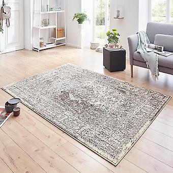 Crème de panache gris tapis velours concepteur